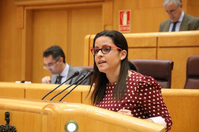 """Yaiza Castilla insta al Gobierno del Estado a exceptuar y permitir el uso del término """"miel de palma"""""""
