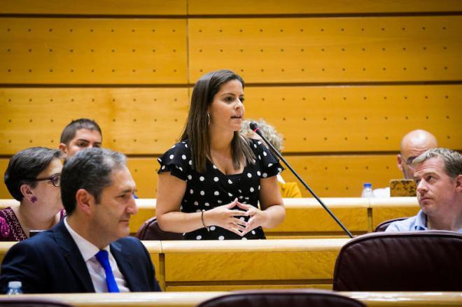 Yaiza Castilla insta al Gobierno central a que traslade a la UE la excepción del término ´Miel de Palma`