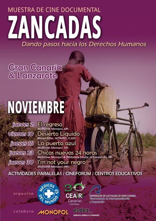 Muestra de cine documental 'Zancadas', sobre derechos humanos