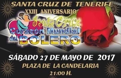 Santa Cruz celebra este sabado la XXIII edición del Festival Mundial de Boleros