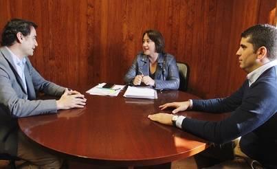 Yaiza recibe el apoyo de Ciudadanos en su lucha por el NO a las torretas