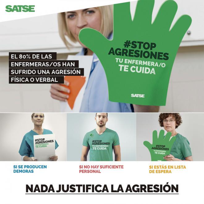 SATSE buscará el apoyo de los partidos en el Congreso a su Ley contra las agresiones a sanitarios