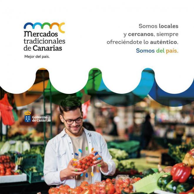 Comercio pone en marcha una estrategia para promocionar los mercados y mercadillos tradicionales de Canarias