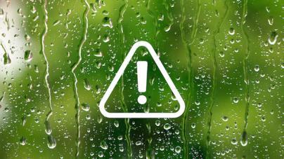 Las islas occidentales en alerta por lluvias y vientos