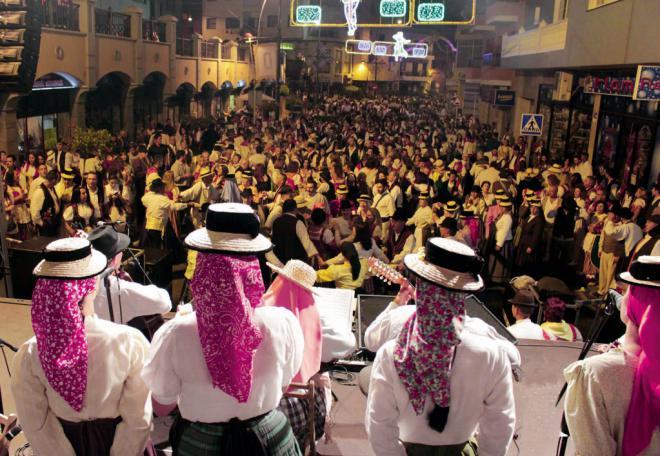 Los Realejos espera más de 20.000 personas en su Baile de Magos