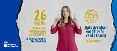 El voto exterior de las elecciones al Parlamento de Canarias comienza a contarse