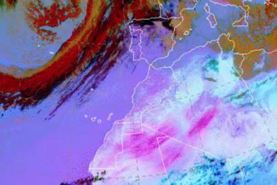 Lanzarote y Fuerteventura estarán este lunes en aviso amarillo por viento y calima y el martes se amplía a toda Canarias