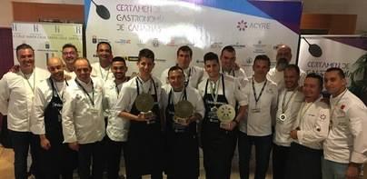 El chef Rubén Darío 'Mejor cocinero de Canarias' en el Certamen de Gastronomía 2017