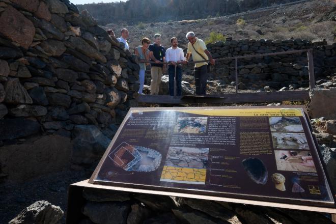 Canarias financia la nueva recepción de la Zona Arqueológica de Cañada de los Gatos