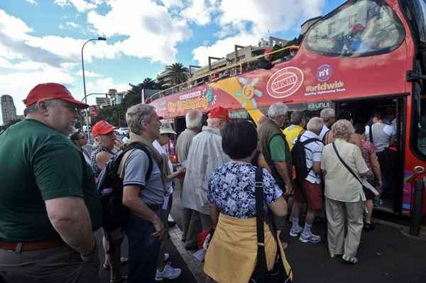 Los turistas internacionales crecen un 8,3% en Canarias hasta agosto
