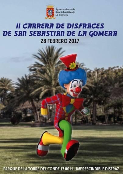 Todo preparado para la carrera de disfraces del próximo martes en San Sebastián de La Gomera