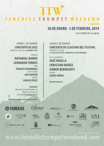 La III edición del 'Tenerife Trumpet Weekend' se desarrolla en La Laguna
