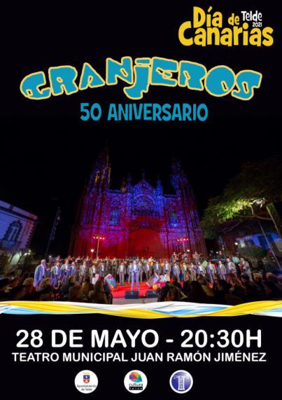 El Teatro Municipal acoge este viernes el Concierto 50 Aniversario de Los Granjeros