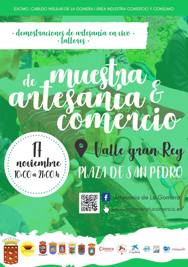 Valle Gran Rey acogerá la próxima Muestra de Artesanía y Comercio de La Gomera