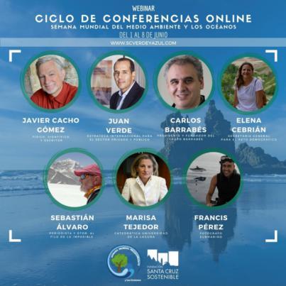 Santa Cruz celebra el Día del Medio Ambiente y de los Océanos con un ciclo de conferencias online