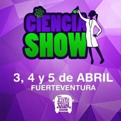 El proyecto CienciaShow llega a Canarias