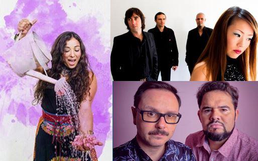 Caracoles, St Fusion y Socos Dúo actuarán en el mercado de música más importante de Latinoamérica