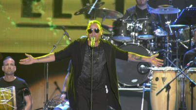 Apoteósico concierto de Elvis Crespo en La Gomera