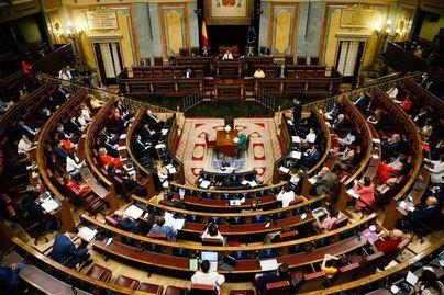 El decreto de nueva normalidad sale adelante con una amplia mayoría, incluído el PP