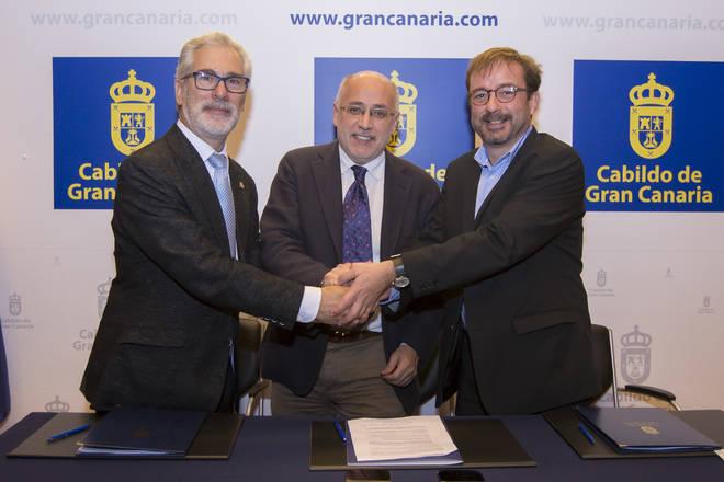 Primer acuerdo entre el Cabildo y ULPGC para innovación