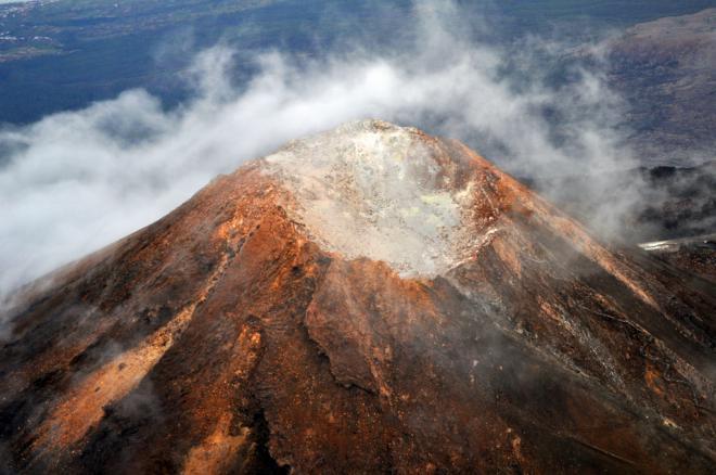 Más de 70.000 personas accedieron al cráter del Teide durante 2019