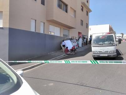 Familias con menores desalojadas en San Isidro