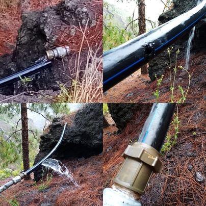 Un sabotaje en el abastecimiento de agua a La Laja cuesta 300.000 litros a sus vecinos