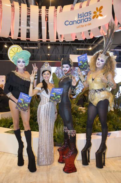 Las Palmas de Gran Canaria promociona su agenda cultural y su Carnaval en FITUR 2018