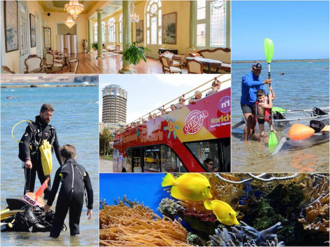 Las Palmas de Gran Canaria ponen en marcha la promoción 'Veranea en tu ciudad'