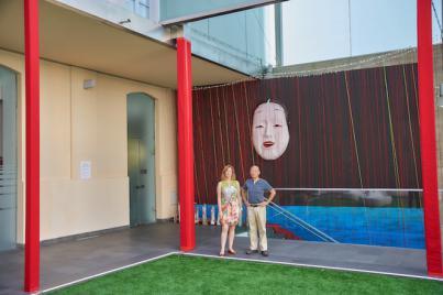El Museo de la Naturaleza y el Hombre acoge este mes la instalación artística 'Lluvia roja'