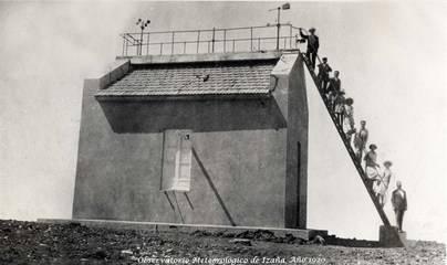 La estación de Izaña, reconocida por la Organización Meteorológica Mundial
