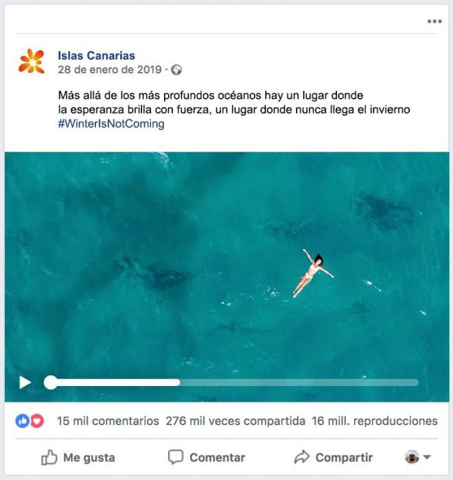 Canarias resulta finalista en los premios Eficacia con cinco candidaturas compitiendo con otras 119 campañas nacionales