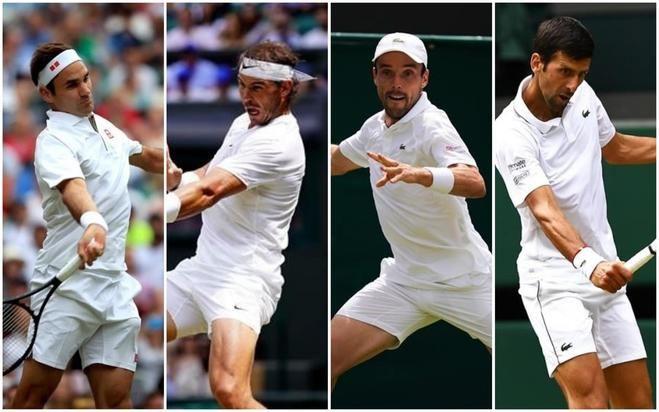 Nadal se reencuentra con Federer y Bautista sueña ante Djokovic