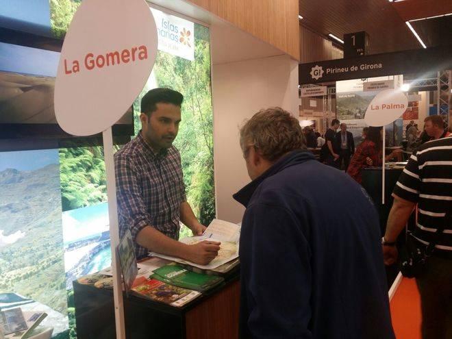 La Gomera, presente en importantes ferias turísticas en Bilbao y Barcelona