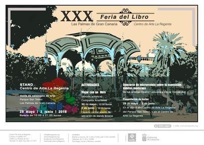 La Regenta estará un año más en la Feria del Libro de Las Palmas con un stand de publicaciones de arte