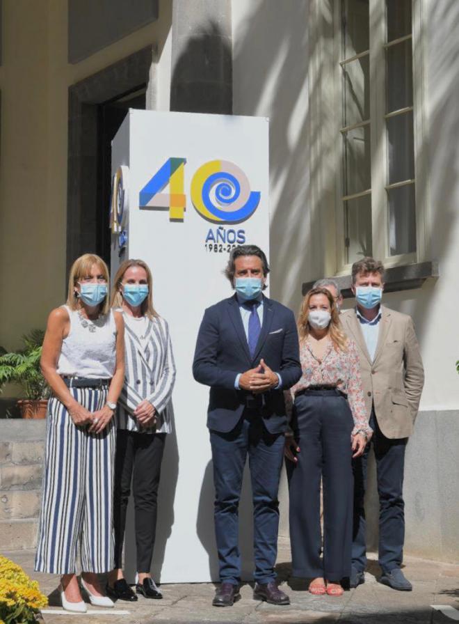 El Parlamento de Canarias conmemorará sus 40 años de vida