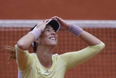 Garbiñe Muguruza, campeona de Roland Garros