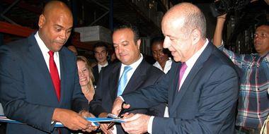 Inauguran en Cabo Verde una fábrica canaria dedicada a la producción de zumo y café