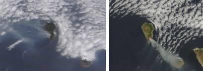 La NASA muestra los cambios de viento que han dificultado los trabajos de extinción