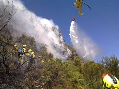 El incendio de La Palma podría quedar estabilizado esta noche