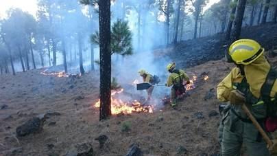 El 6,8% de la superficie La Palma se ha visto afectada por el fuego