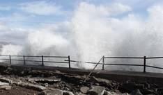 La Aemet activa el aviso naranja en La Palma, Tenerife y El Hierro por olas