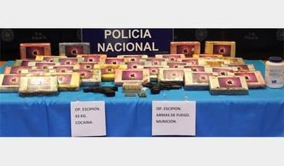 Desarticulada una organización que introducía cocaína en Gran Canaria