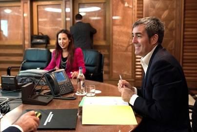 CC y PSOE acuerdan continuar con el pacto en Canarias