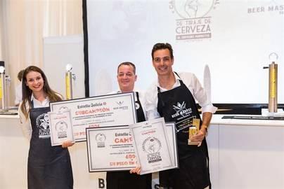 Iván Trujillo, del Bar Pico Viejo, mejor tirador de cerveza de Canarias