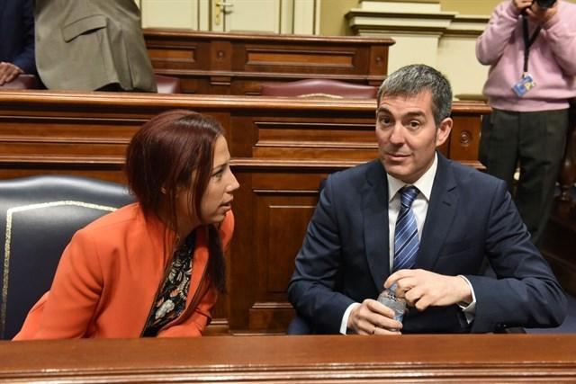 Clavijo: 'Los cambios internos del PSOE no afectarán en absoluto al Gobierno'