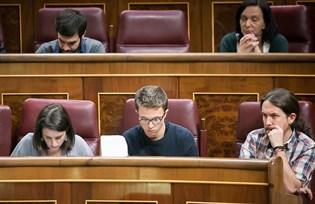 Podemos se ausentan del minuto de silencio en el Congreso por Barberá