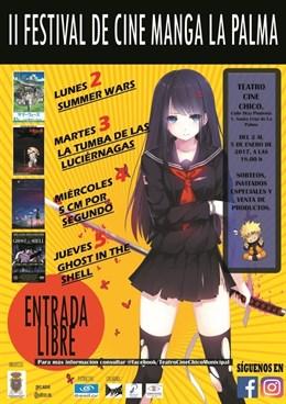 Segunda edición del Festival de Cine Manga