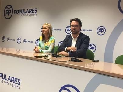 Antona derrota a Tavío y será único candidato a la presidencia del PP canario