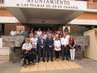 El Ayuntamiento de Las Palmas de Gran Canaria homenajea a Miguel Ángel Blanco con la ausencia de Podemos